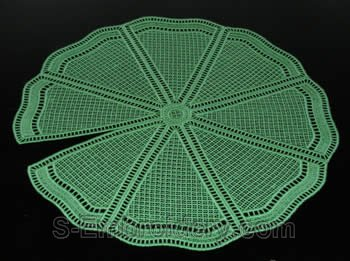 Water Lilly freestanding lace doily