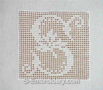 Crochet monogram letter S