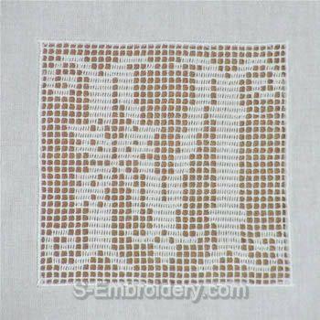 Crochet monogram letter M