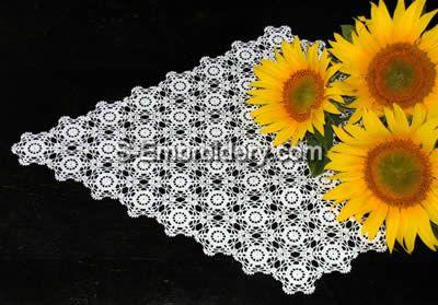 Freestanding Lace crochet Doily