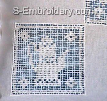 Freestanding Lace Kitchen Crochet Square 4