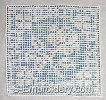 Freestanding Lace Crochet Square