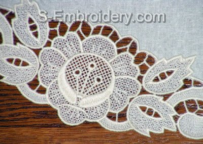 Freestanding Lace close-up image
