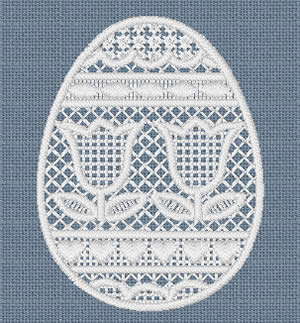 10086 Easter egg embroidery set