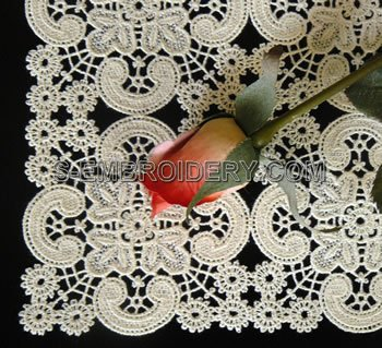 10520 Battenberg lace embroidery design