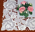 10416 Rose free standing lace border