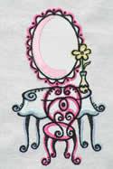 10426 Boutique machine embroidery set