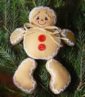 10493 Ginger boy soft toy set