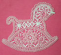 10509 Battenberg Lace Horse Embroidery Design