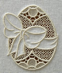 10575 Easter egg cutwork lace embroidery design